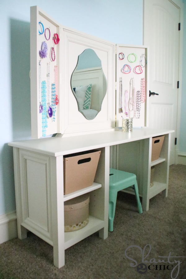 Diy Kids Vanity Shanty 2 Chic